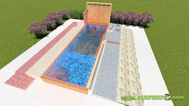 สร้างสระว่ายน้ำ