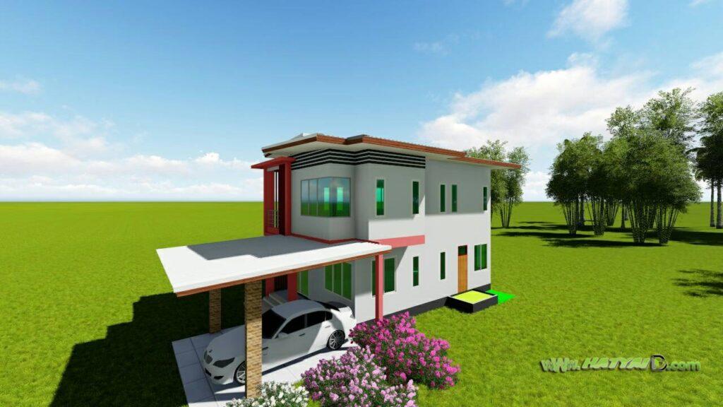 รับออกแบบบ้านนครศรี