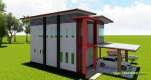 ออกแบบบ้านนครศรี