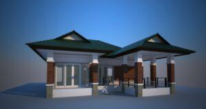 ออกแบบบ้านพัทลุง