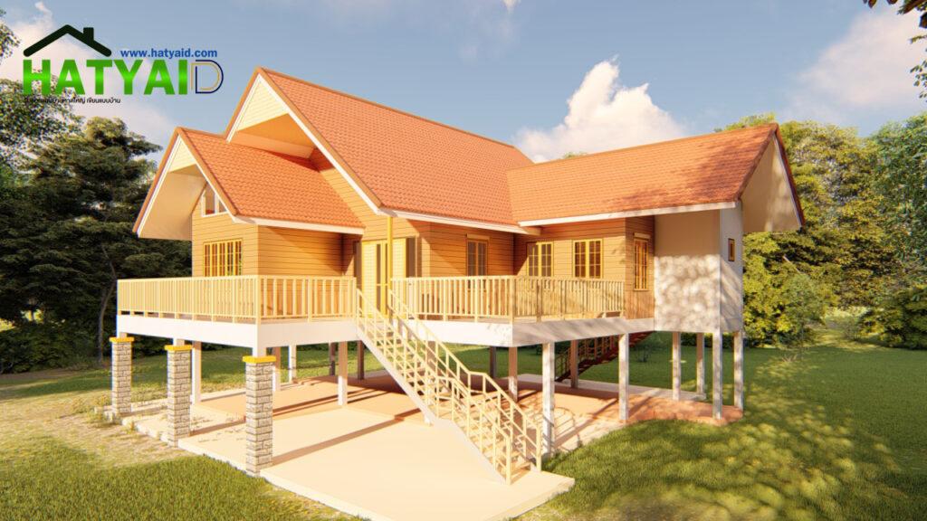 ออกแบบบ้านมีใต้ถุน