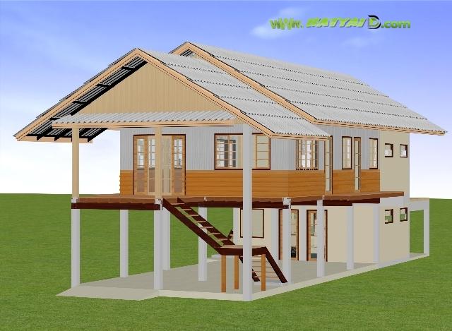 ออกแบบบ้านไม้