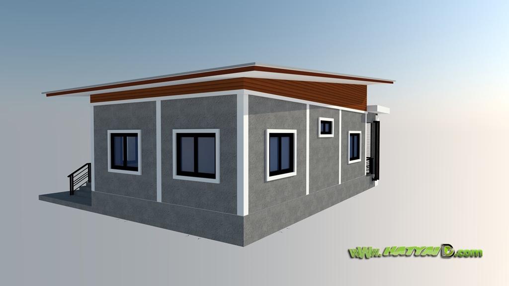 3Dบ้านโมเดิร์นลอฟท์