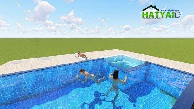 สระว่ายน้ำพร้อมระบบสปา
