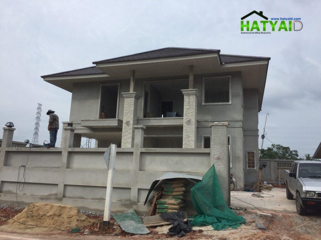 ออกแบบบ้าน2ชั้นหาดใหญ่