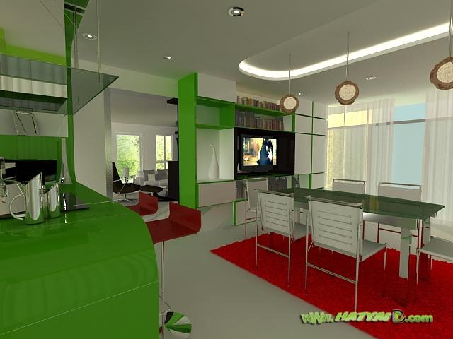ออกแบบห้องนั่งเล่น